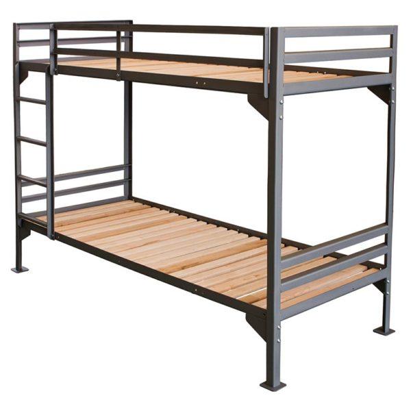 KARL Etagenbett aus Stahl mit-Rolllattenrost