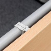 Klicksystem - Metall Etagenbett Erik mit Holzerkleidung