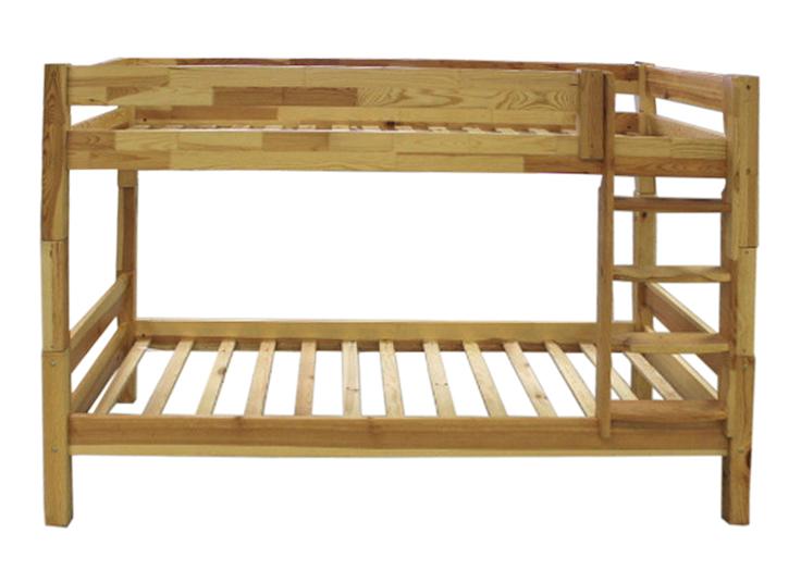 Holz-Etagenbett Kiefer hell