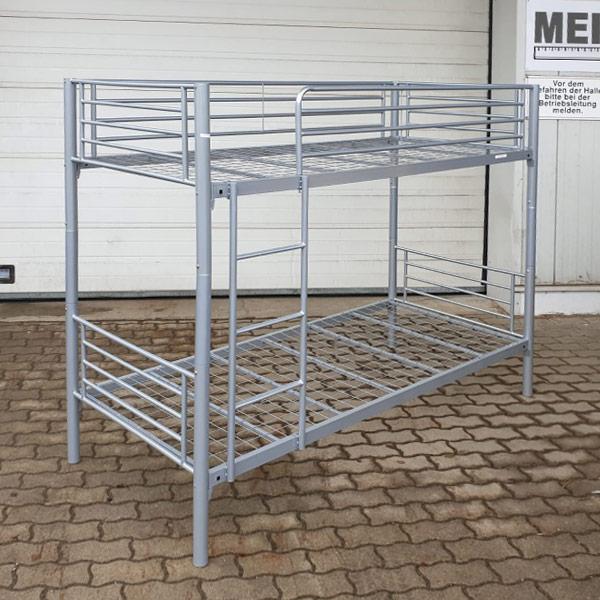 Stockbett aus Metall