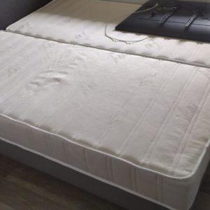 Gebrauchte Matratze aus Hotelauflösung